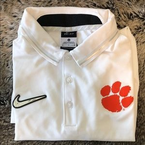 Nike Clemson Golf Polo, Medium CFP